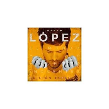 Pablo Lopez - El mundo y los amantes inocentes [CD+ DVD]