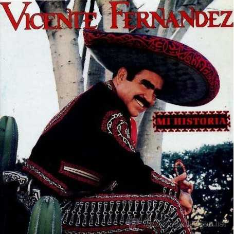 Vicente Fernández - Mi historia [CD]