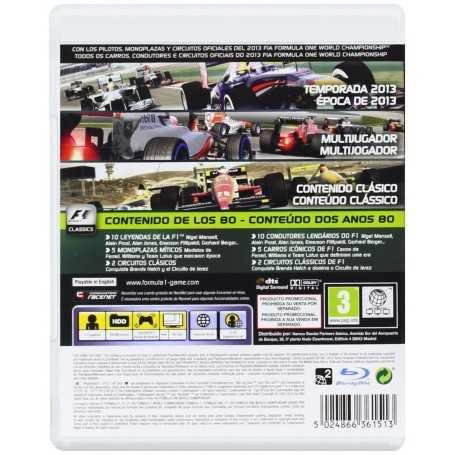 Comprar Video Juego Playstation 3: F1 2013 [PS3]