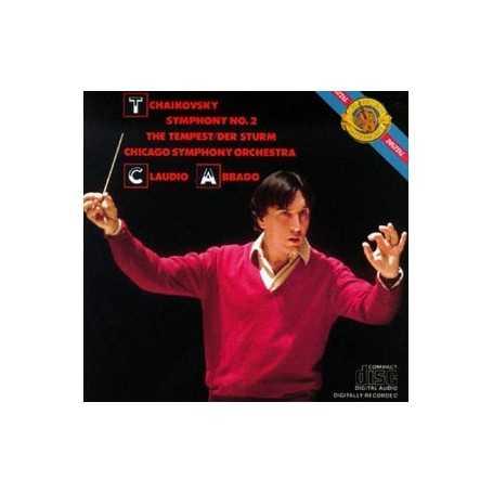 Claudio Abbado Tchaikovsky: The Tempest Symphony No. 2 [CD]