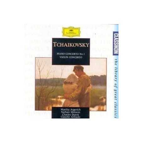 Tchaikovsky. Piano Concerto / Violin Concerto [CD]