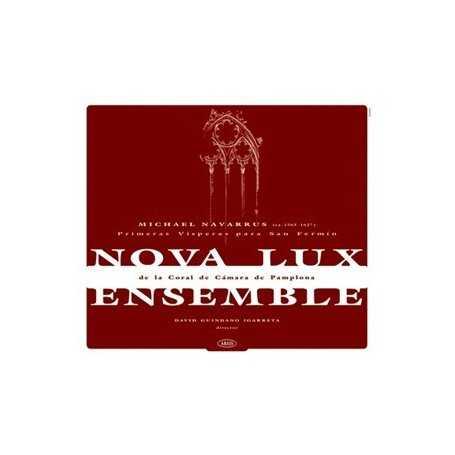 Nova lux Ensemble de la Coral de Cámara de Pamplona [2 CD]