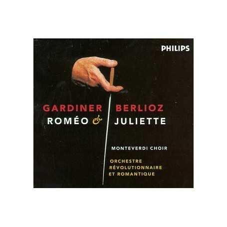 Berlioz (Romeo & Juliette / Gardiner) [CD / Libro]