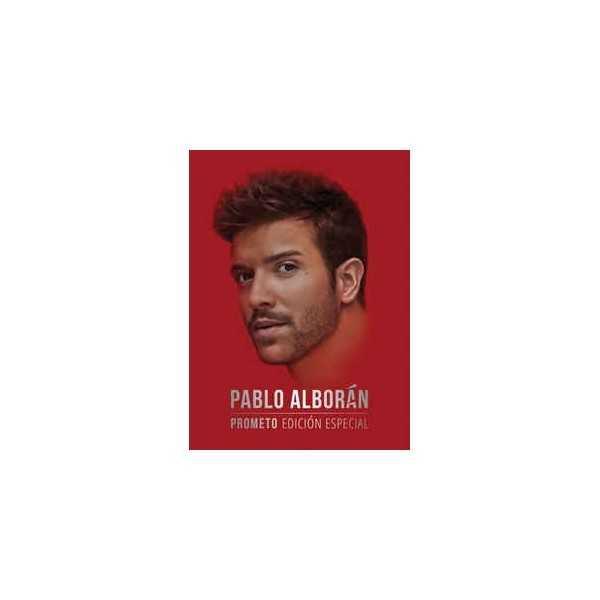 Pablo Alborán Prometo Edición Especial Cd Dvd