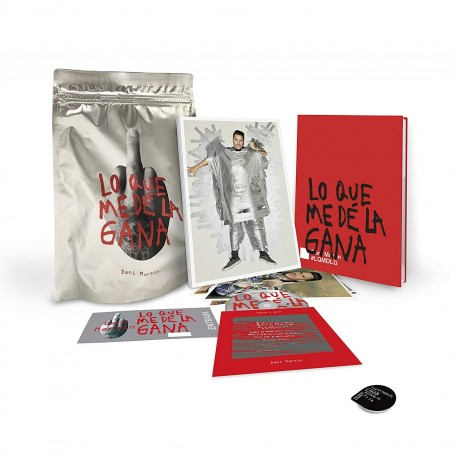 Dani Martín - Lo Que Me De La Gana (Ed. Limitada firmada) [CD]