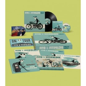 Fito & Fitipaldis - Cada Vez Cadaver (Box Deluxe firmado) [Vinilo +CD + DVD]