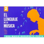 El Lenguaje de la Musica 2 Grado Elemental (Navarrete) [Libro]