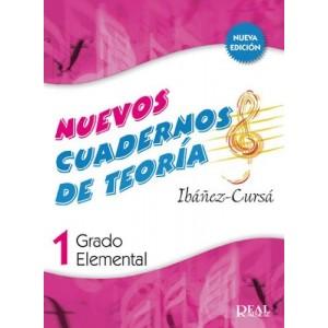 Nuevos Cuadernos de Teoria 1 Grado Elemental (Ibañez Cursa) [Libro]