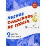 Nuevos Cuadernos de Teoria 2 Grado Elemental (Ibanez Cursa) [Libro]