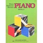 Piano Básico de bastien (Piano Nivel 3) [Libro]