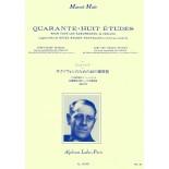 48 Estudios de Saxofón (Marcel Mule) [Libro]