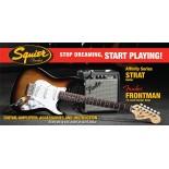 Pack Fender Squier Stratocaster Sunburst [Pack Guitarra Eléctrica]