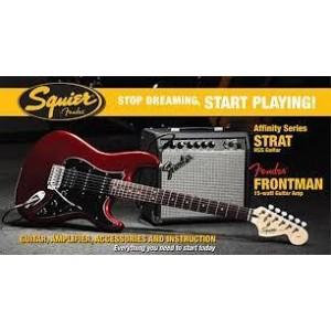 Pack Fender Squier Stratocaster Rojo [Pack Guitarra Eléctrica]