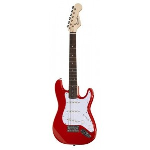 Fender Squier Strat Mini Red [Guitarra Eléctrica]