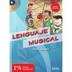 Lenguaje Musical 1A Grado Elemental (Felix Sierra) [Libro + CD]