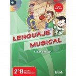 Lenguaje Musical 2B Grado Elemental (Felix Sierra) [Libro + CD]
