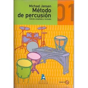 Método de Percusión (Michael Jansen) [Libro + CD]