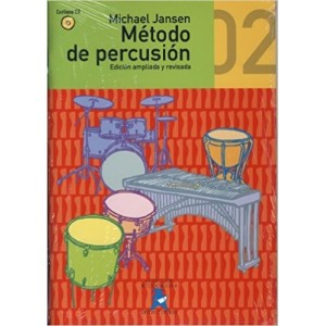 Método de Percusión Vol.2 (Michael Jansen) [Libro + CD]