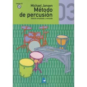 Método de Percusión Vol.3 (Michael Jansen) [Libro + CD]
