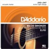 D'addario EPS510 (10-47) Guitarra Acústica [Juego de Cuerdas]