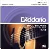 D'addario EJ13 (11-52) Guitarra Acústica [Juego de Cuerdas]