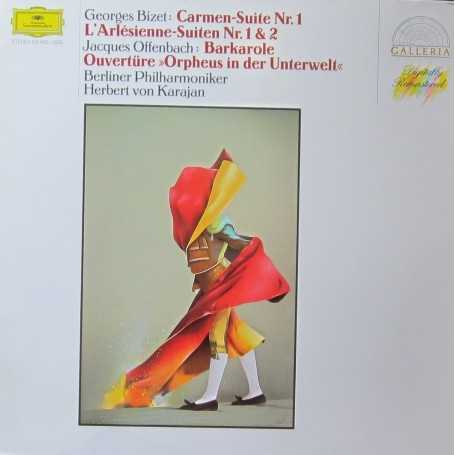 Bizet / Offenbach-Karajan-Carmen [Vinilo]