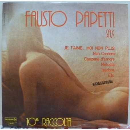 Fausto Papetti - 10a Raccolta (Sax) [Vinilo]