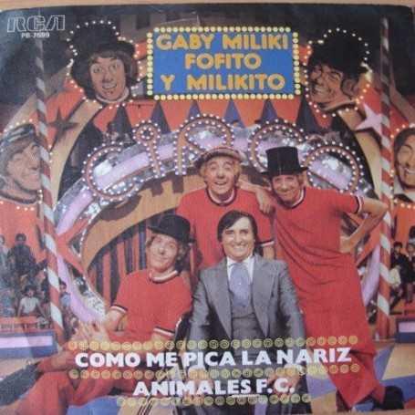Gaby, Miliki Fofito y Milikito [Vinilo]