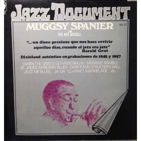 Muggsy Spanier con Pee Wee Russell - Jazz Document Vol 13 [Vinilo]