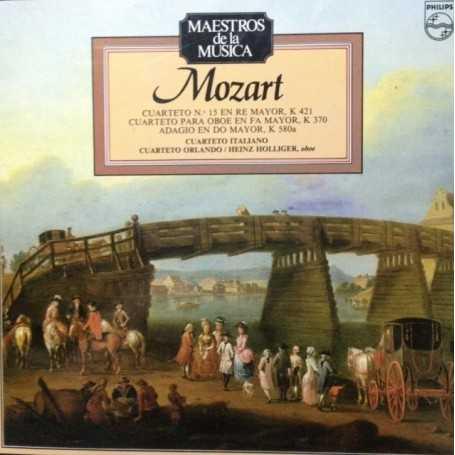 W.A Mozart: Cuarteto n 15 - Cuarteto para Oboe - Adagio K580a [Vinilo]