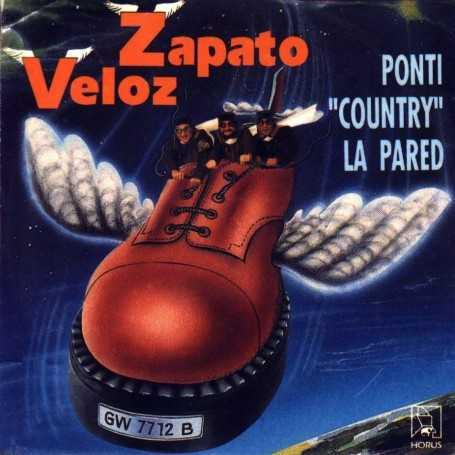 Zapato veloz - Ponti country la pared [Vinilo]