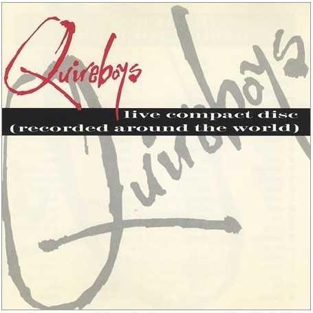 The Quireboys - Live album (Recorded Around The World) [Vinilo]