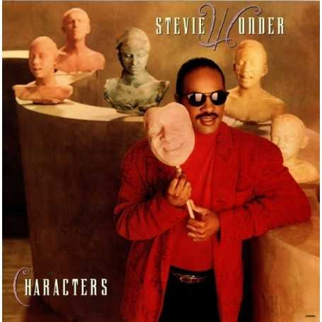 Stevie Wonder - Characters [Vinilo]