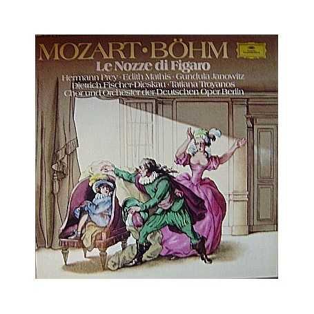 Mozart  - Le nozze di figaro (Bohm) [Box Set Vinilo]