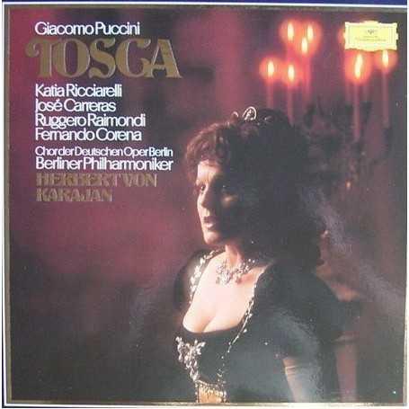 Giacomo Puccini - Tosca (Herbertvon Karajan) [Box Set Vinilo]