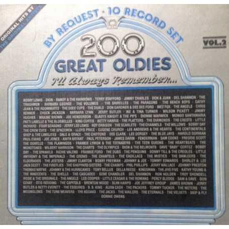 200 Great Oldies I'll Always Remember...Vol.2 [Box Set Vinilo]