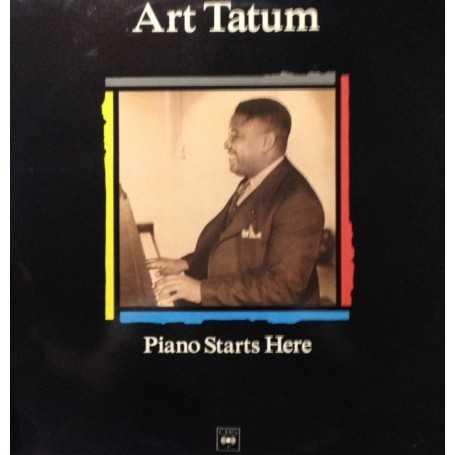 Art Tatum - Piano starts here [Vinilo]