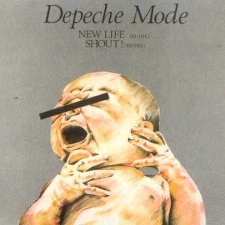Depeche mode - New Life (Re Mix) / Shout! (Rio Mix) [Vinilo]