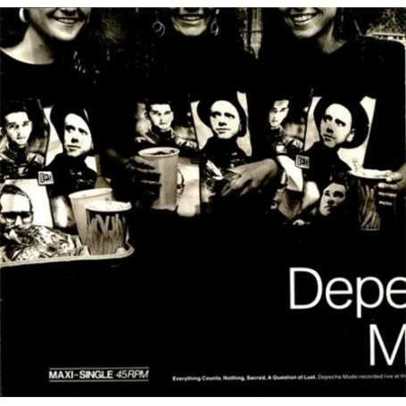 Depeche mode - Everything counts, Nothing, Sacred, A question of lust [Vinilo]