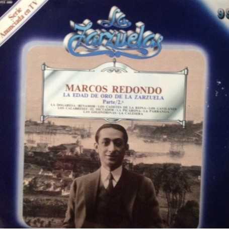 Marcos Redondo, La edad de oro de la Zarzuela (Parte 2) [Vinilo]