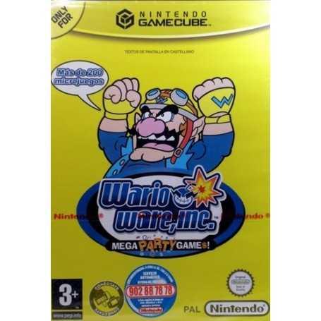 Wario ware Inc, Mega Party games [GameCube]