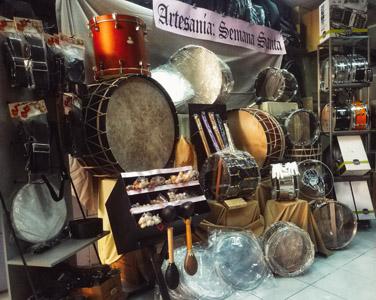 Percusión de Semana Santa y reparaciones