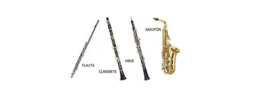 Comprar Instrumentos de viento madera: Saxofones, clarinete..
