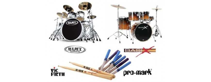Comprar Accesorios de Percusión: Baquetas, fundas, Platos