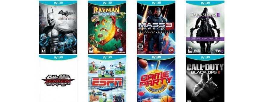 Comprar Video Juegos Nintendo Wii U