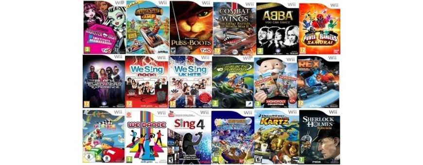 Comprar Video Juegos Nintendo Wii