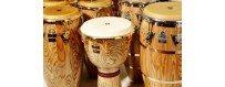 Comprar Instrumentos de Percusión: Congas, Bongos, campanas, panderos, shakers…