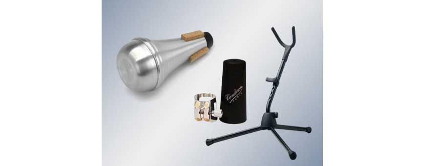 Comprar Accesorios de Viento: Boquillas, cañas, sordinas, soportes, etc..